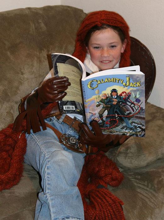 Rapunzel-reads-Jack